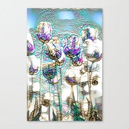 Dainty Tulips Canvas Print