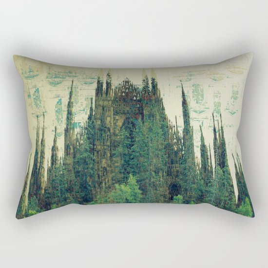Forest Cathedral Rectangular Pillow