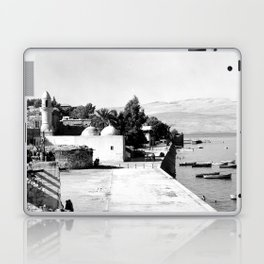 The lakefront at Galilee. Tiberias. 1945 Laptop & iPad Skin