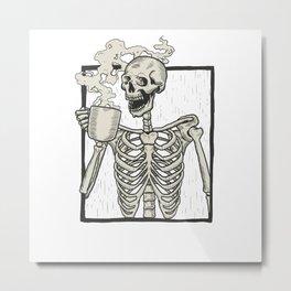 Fun Coffee Metal Print