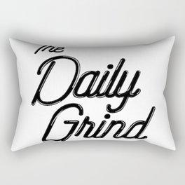 The Daily Grind Rectangular Pillow