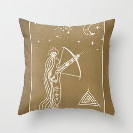 Sagittarius Spirit Throw Pillow