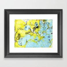 #100 The Map Room Framed Art Print