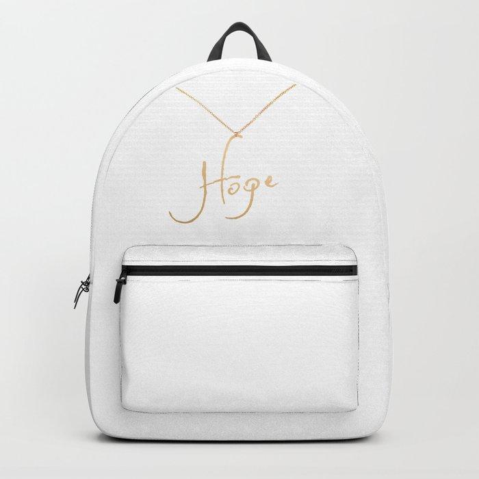 Hope pendant Backpack