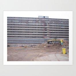 The Heygate Estate (3) Art Print