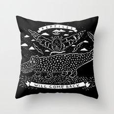 reptiles Throw Pillow