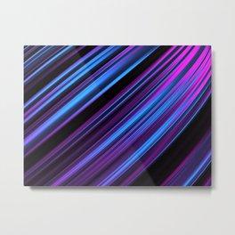 Simply dark pattern Metal Print