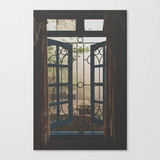 Window Views III Canvas Print