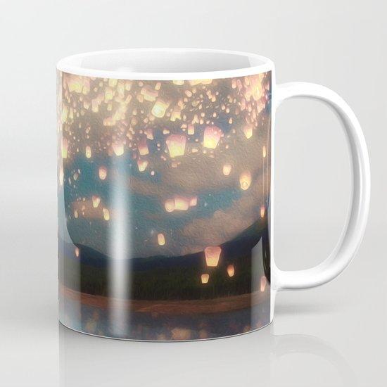 Love Wish Lanterns Mug
