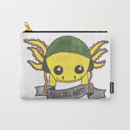 Golden Albino Axolotl Carry-All Pouch