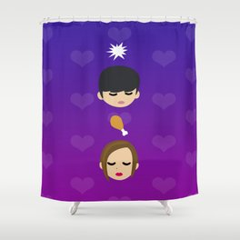 Field of Hearts (My Love From Another Star / You From Another Star) Shower Curtain