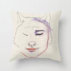 Triste Throw Pillow