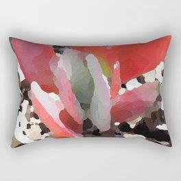 Red Ears Rectangular Pillow