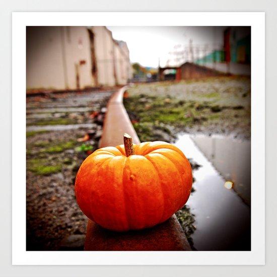 Nalley Valley pumpkin Art Print