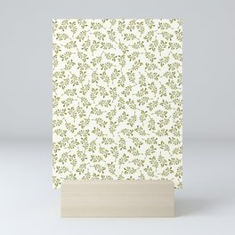 Green Foliage – Floral Heart Collection Mini Art Print