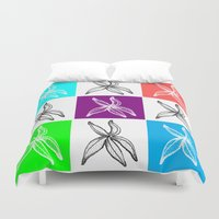 popart Duvet Covers featuring Starfish PopArt Collage by ATheroux