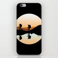 hiking iPhone & iPod Skins featuring HIKING by Şemsa Bilge (Semsa Fashion)