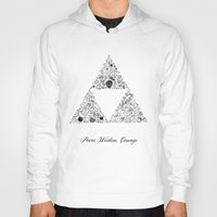 triforce Hoodies featuring Triforce by Constanza Morales