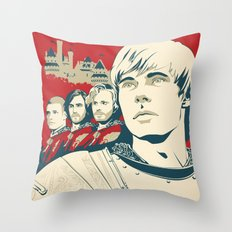 Join Camelot's Knights - Merlin Throw Pillow