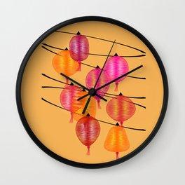 Chinese night Wall Clock