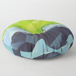 The Poly Landscape Floor Pillow