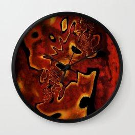 Corroded Dreams Wall Clock