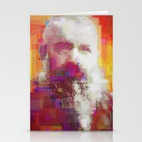 monet Stationery Cards featuring Claude Monet by Steve W Schwartz Art