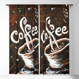 Coffee Blackout Curtain