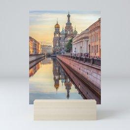 Church of the Savior on Blood, Saint Petersburg, Russia Mini Art Print