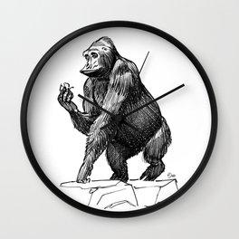 Gorilla, Lille, France. Wall Clock