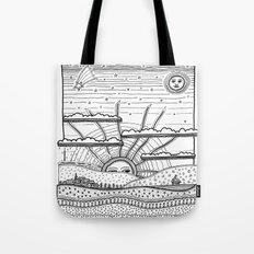 Voyage incertain (uncertain travel) Tote Bag
