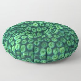 Polyp coral pattern Floor Pillow
