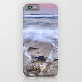 Sea Waves. Mediterranean Summer iPhone Case