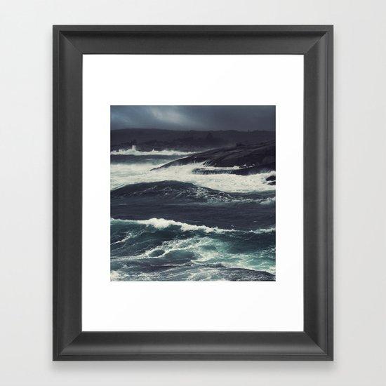 The Dark Tide Framed Art Print
