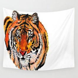 Tiger Painting Wall Tapestry