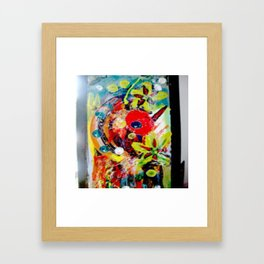 Booming Reds Framed Art Print
