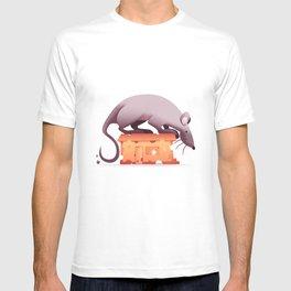A mouse's house T-shirt