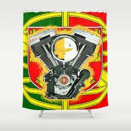 Evol Portugal flag Shower Curtain