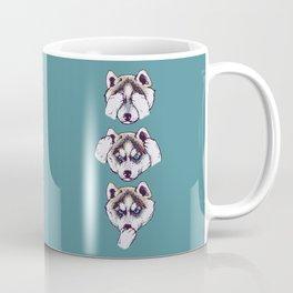 No Evil Husky Coffee Mug