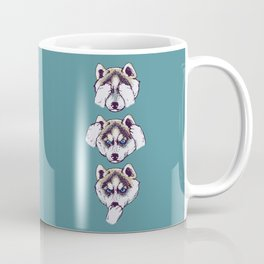 No Evil Husky Coffee Mug