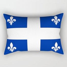 Flag of Quebec Rectangular Pillow