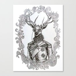 Oh Deer Lord Canvas Print