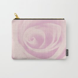Pink Vintage Rose #1 #floral #decor #art #society6 Carry-All Pouch
