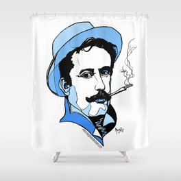 Giacomo Puccini Italian Composer Shower Curtain