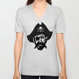 Captain Kidd II (The Rude Pirate) Unisex V-Neck