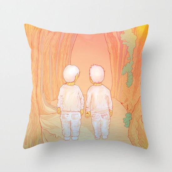 Hansel-&-Gretel Throw Pillow