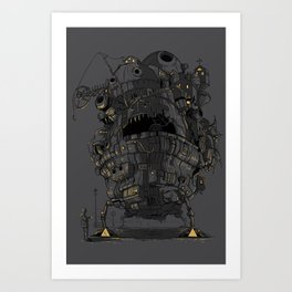 Clamped Art Print