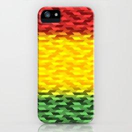 Reggae Vibration iPhone Case