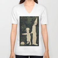 over the garden wall V-neck T-shirts featuring Over the Garden Wall by Ischelle Martin