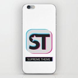 Supreme WordPress Theme iPhone Skin
